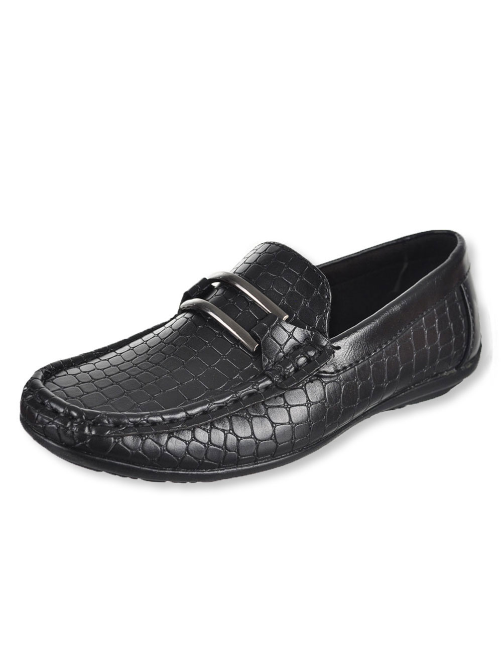 Boys' T-Buckle Loafers