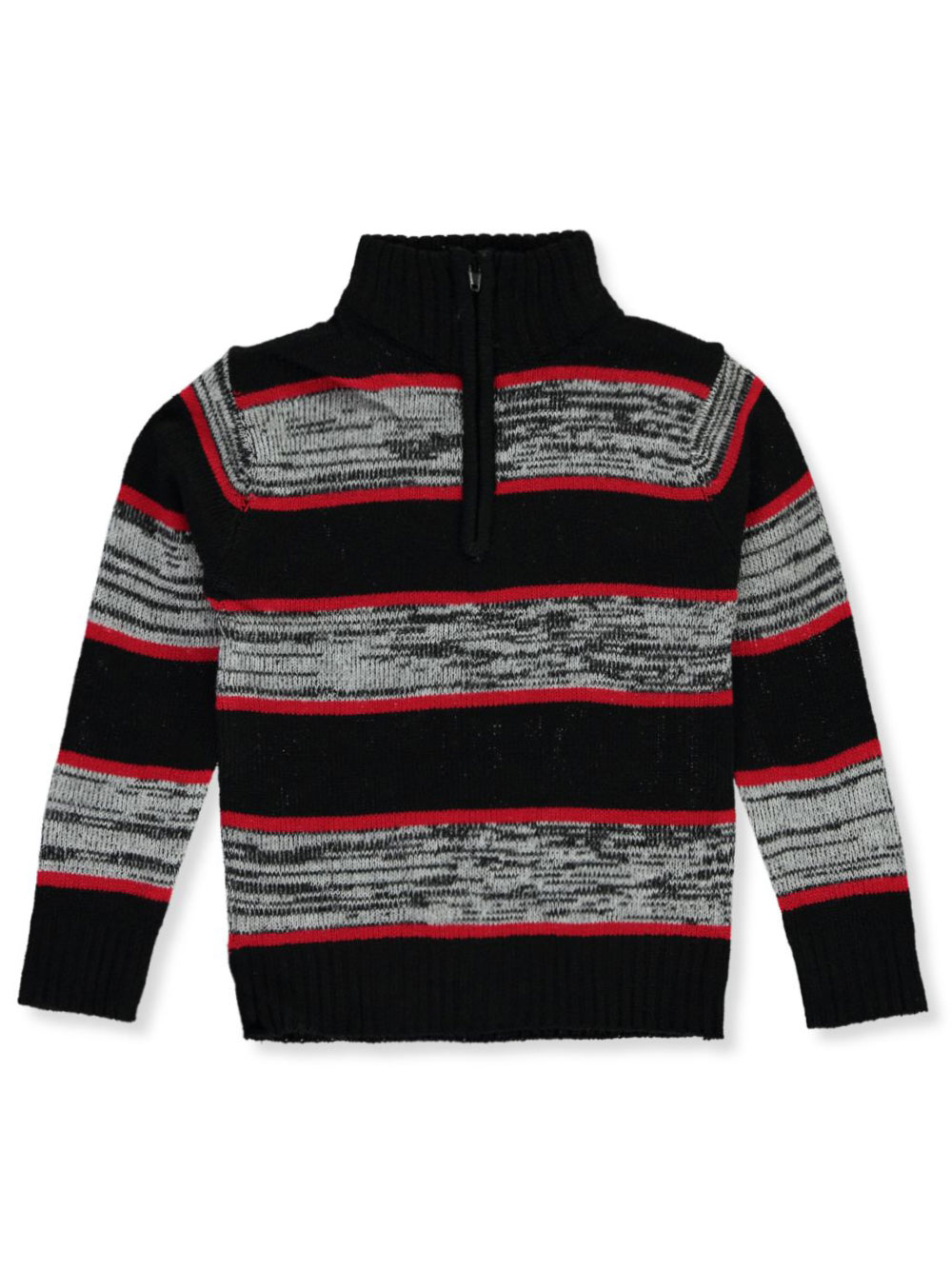 Boys Black and Red Sweaters