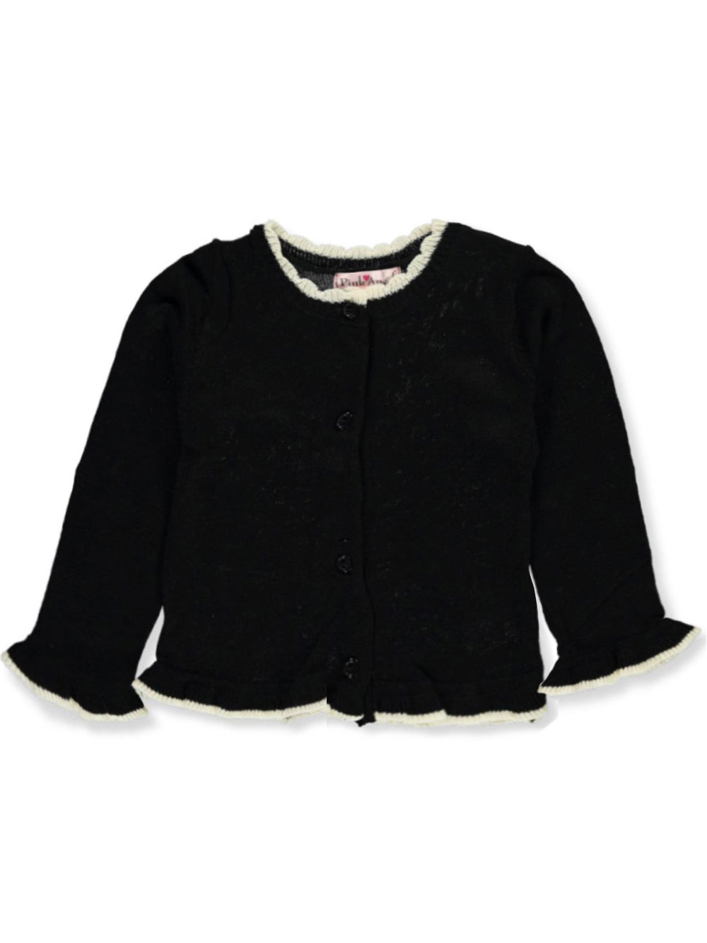 Fashion Tops Ruffle Trim
