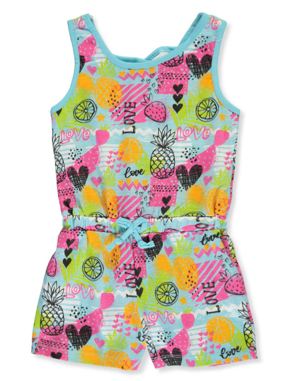Girls Print Rompers and Jumpsuits