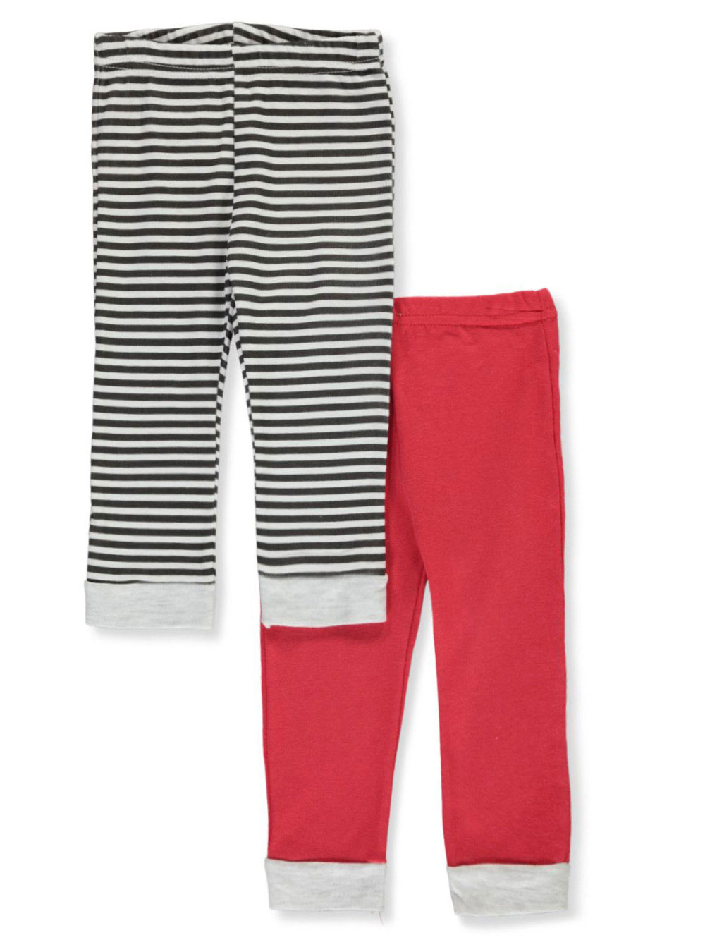 Boys White and Multicolor Pants