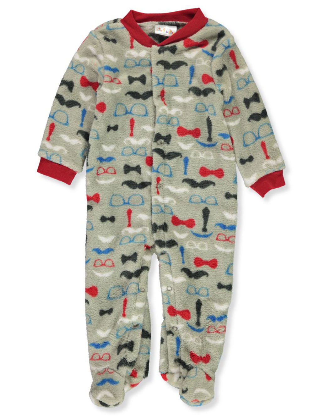 Baby Boys' Allover Print Footed Coveralls