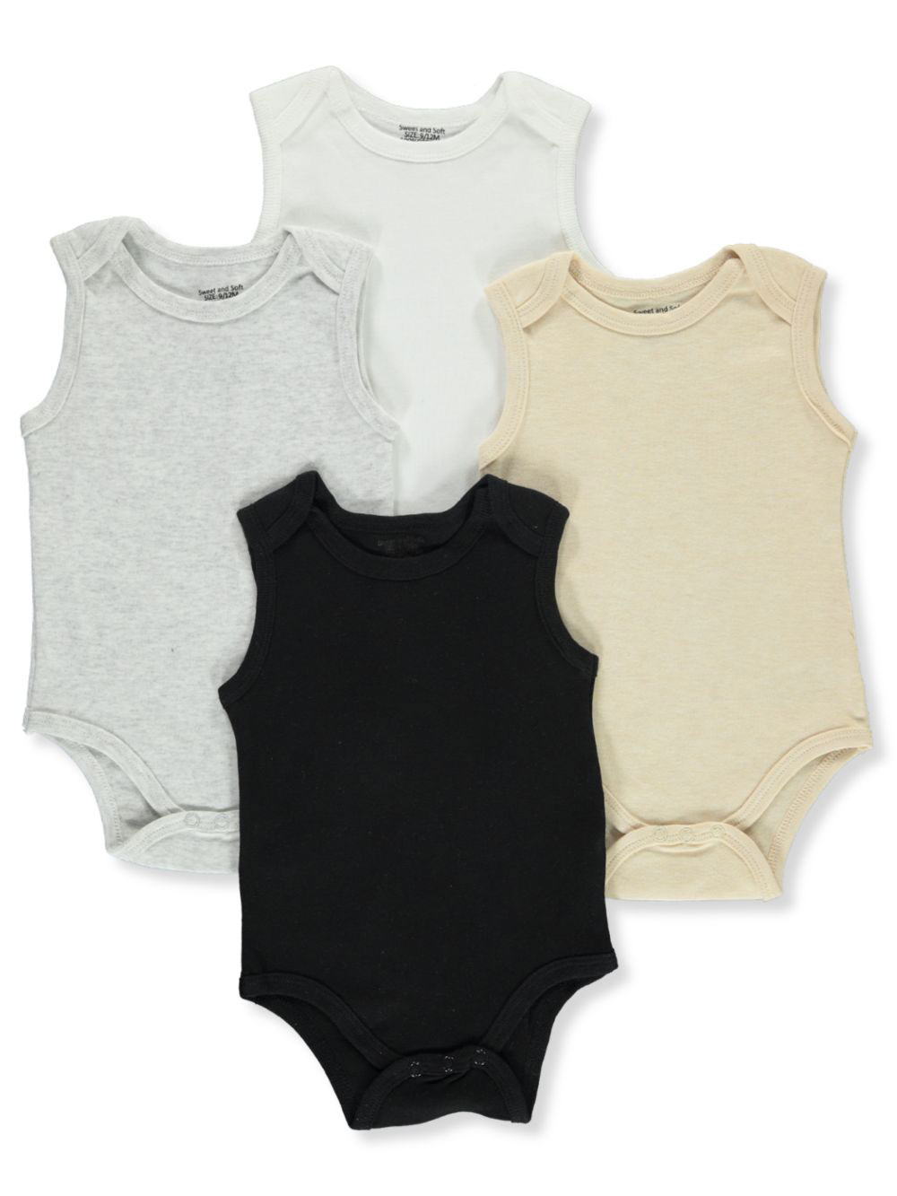 Black and Multicolor Bodysuits