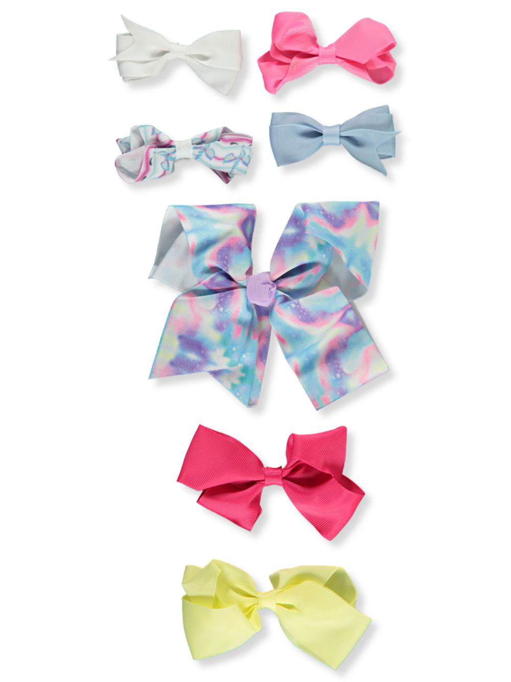 Buttons and Bows Hair Accessories
