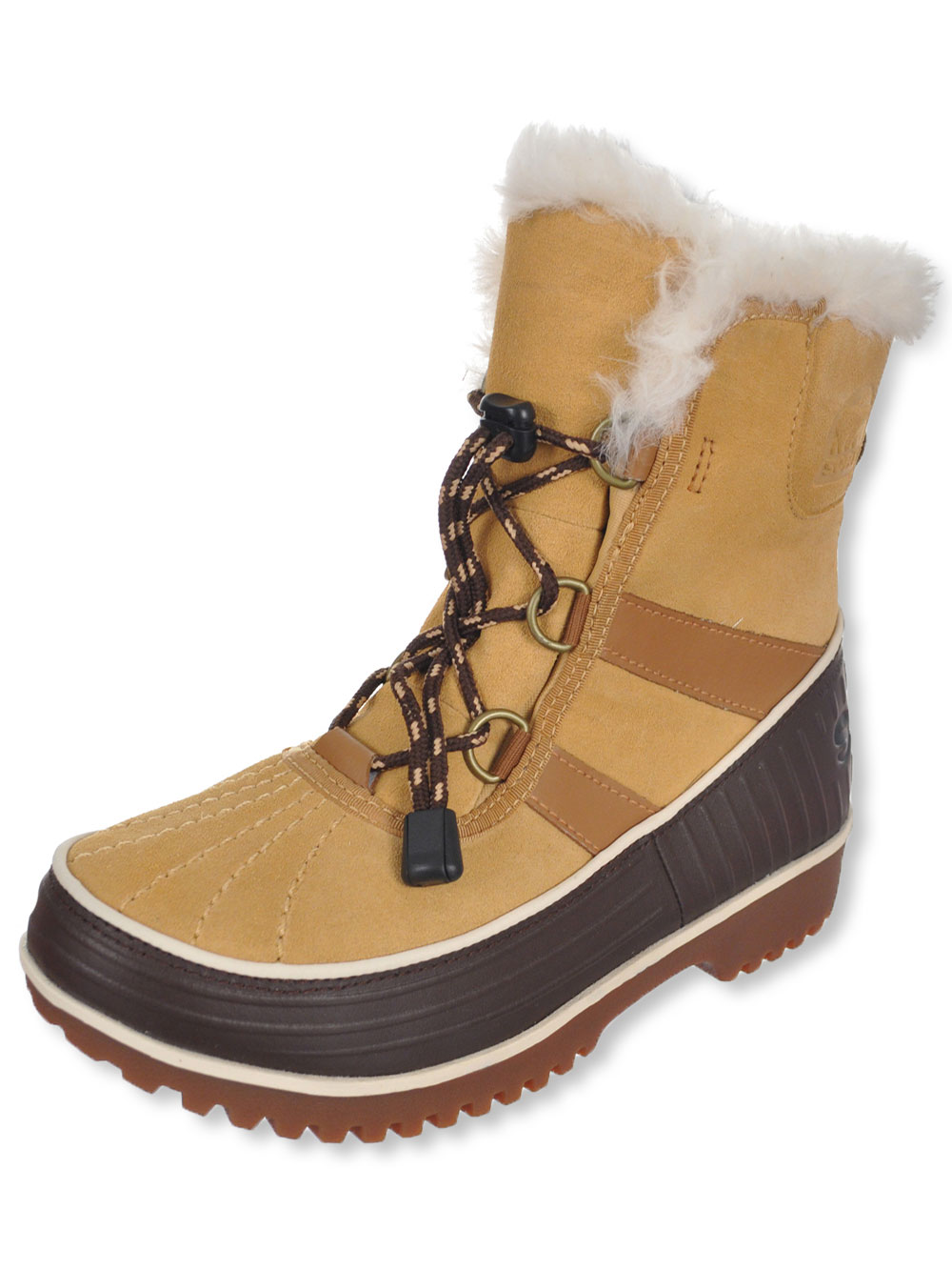 Girls' Fur-Lined Boots