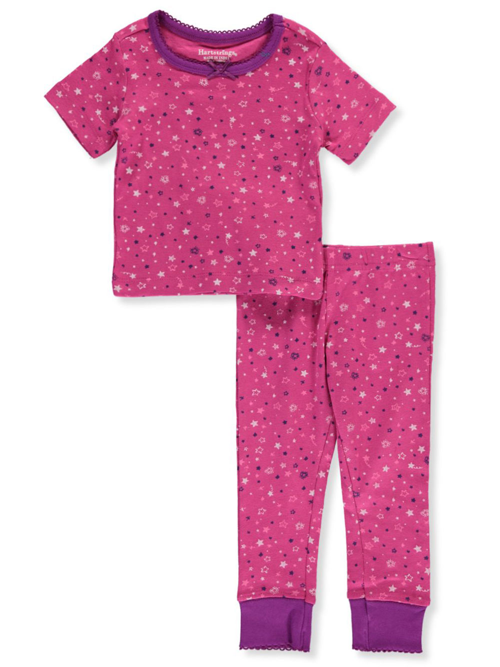 Girls' Stars 2-Piece Pajamas