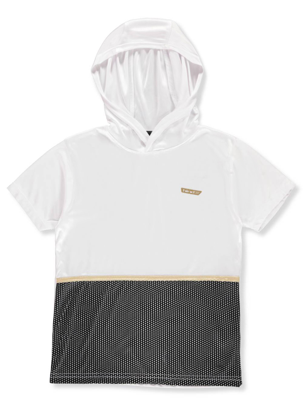 40fd8b800 Boys' Hooded Performance Top by Hind in White from Cookie's Kids