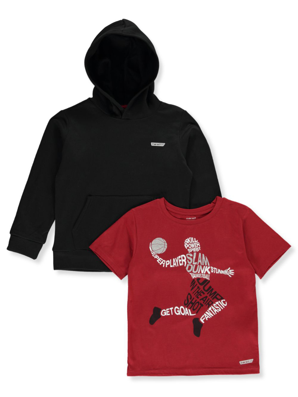 Hoodies 2-Piece Hoodie and T-Shirt Set