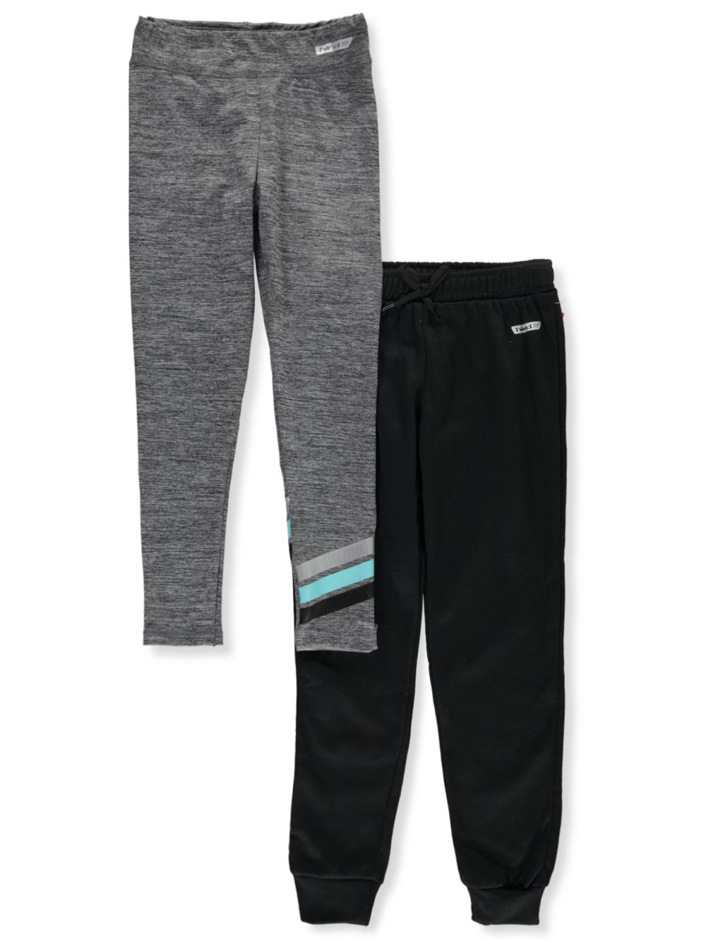 Girls Charcoal Sweatpants and Joggers