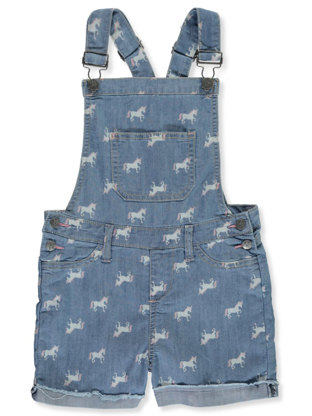 Girls Denim Overalls and Jumpers