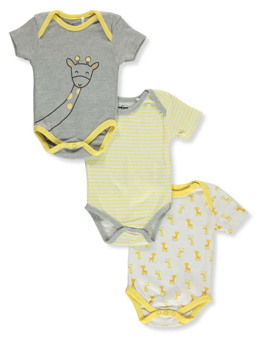 Unisex Baby 3-Pack Bodysuits