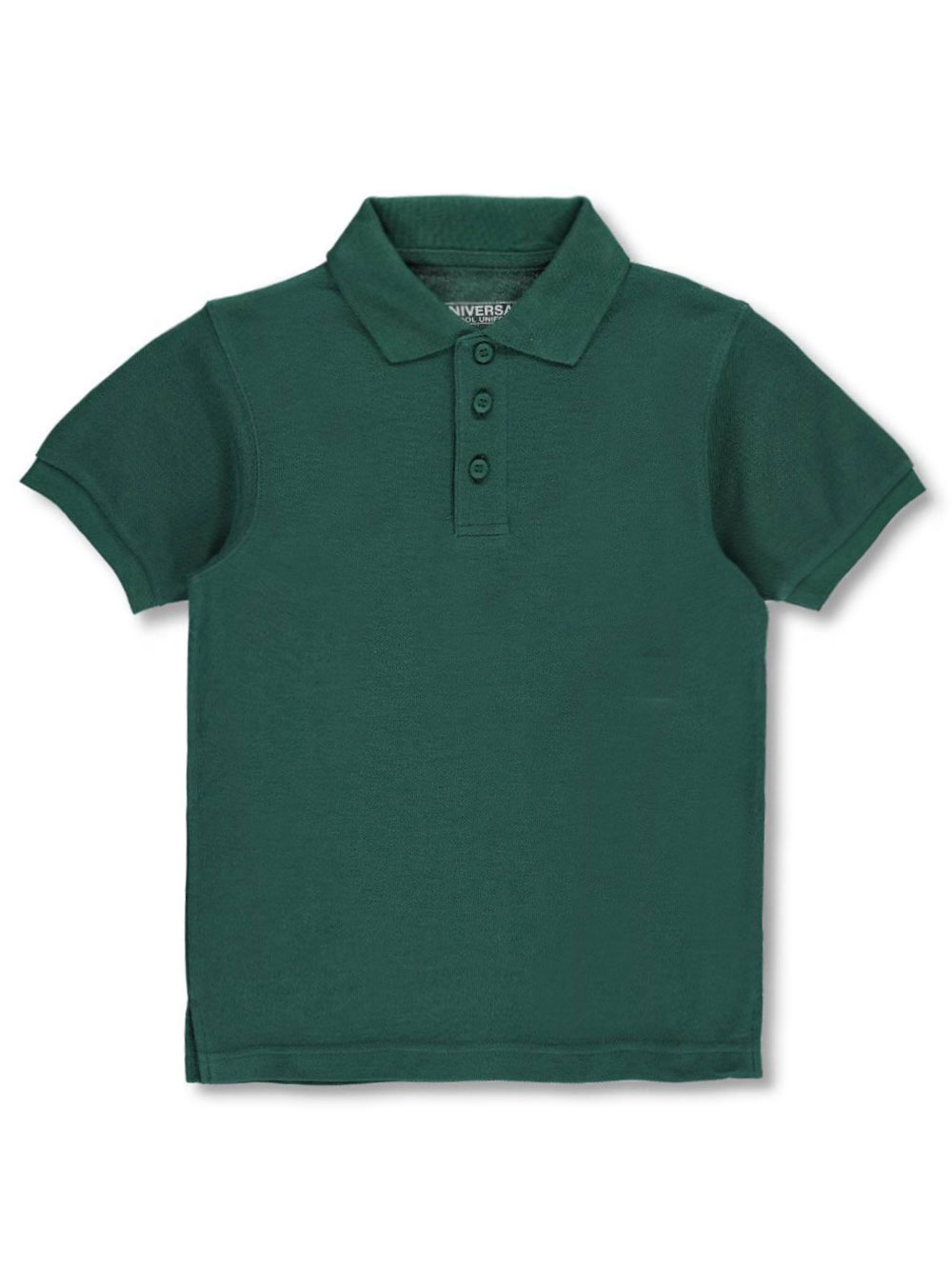Image of Universal Unisex SS Pique Polo Adult Sizes S  XXL  green l