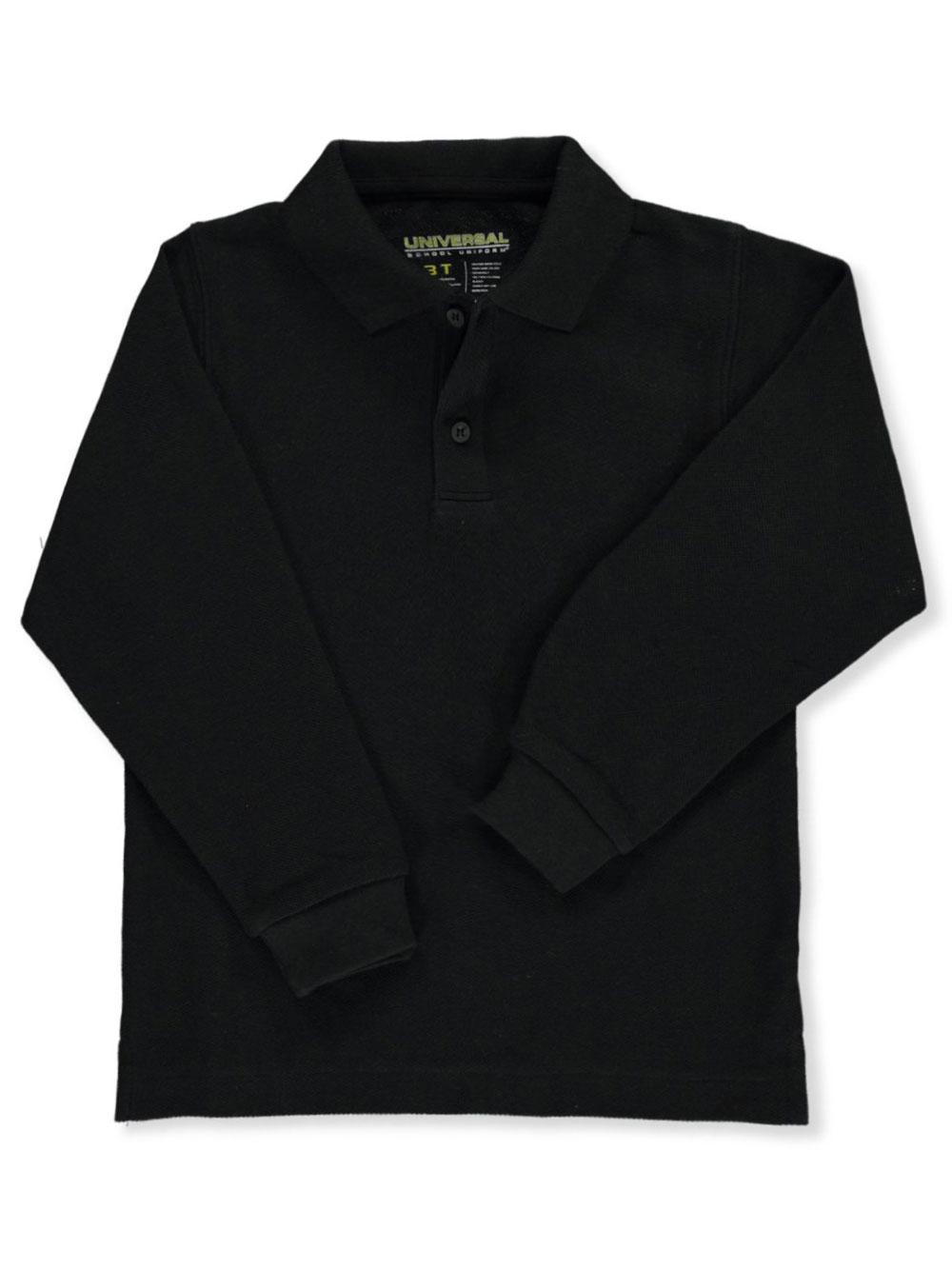 Unisex l and s Pique Polo