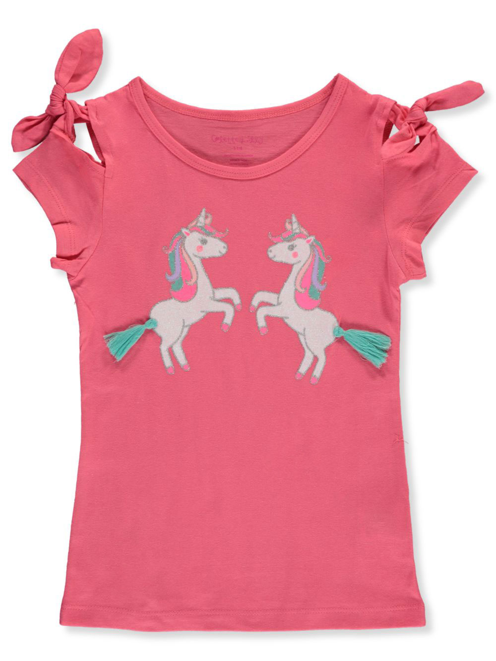 Girls Coral Fashion Tops
