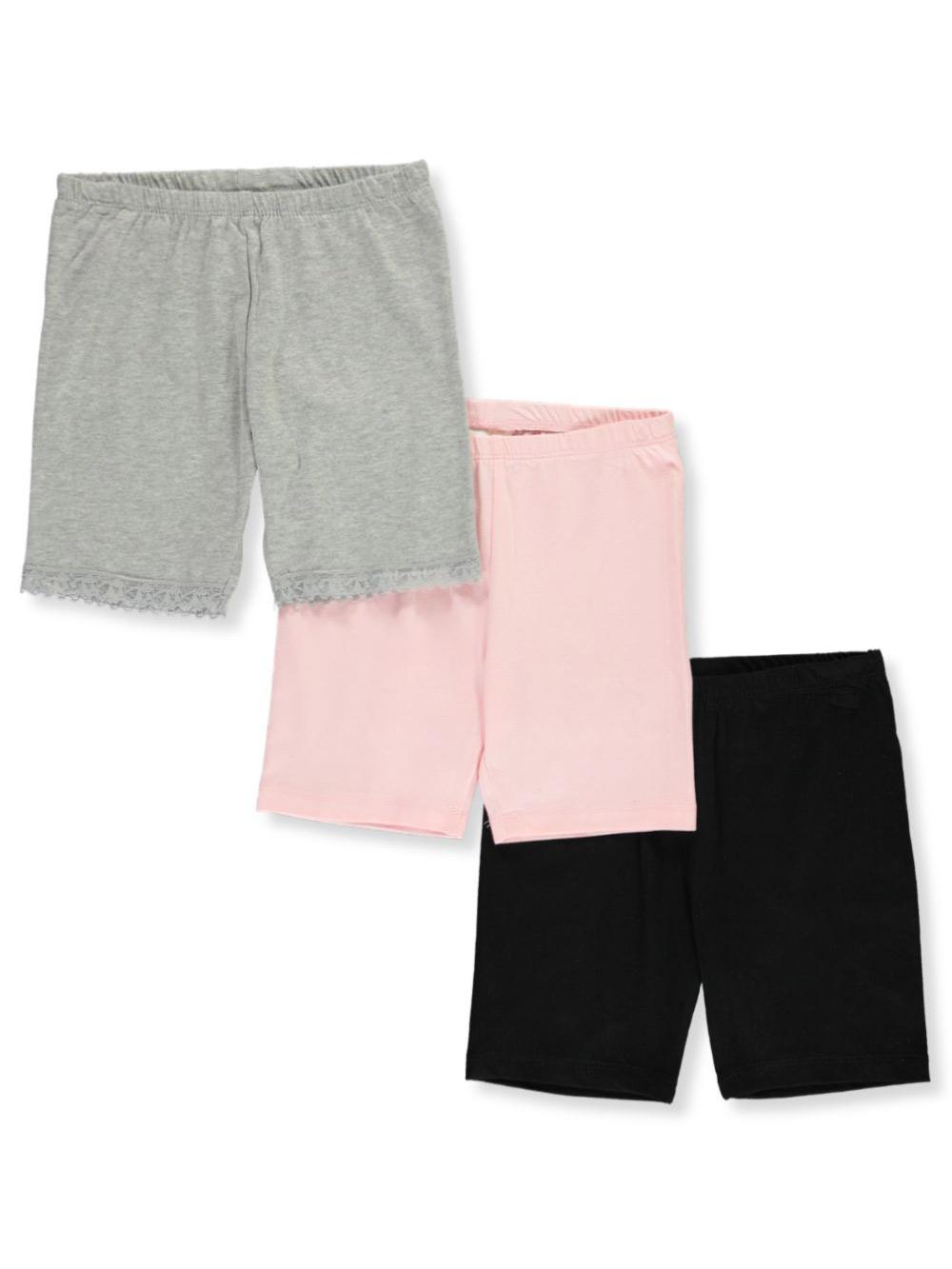 Rene Rofe Little Girls Toddler Basic Cami Layer 3-Pack Camis