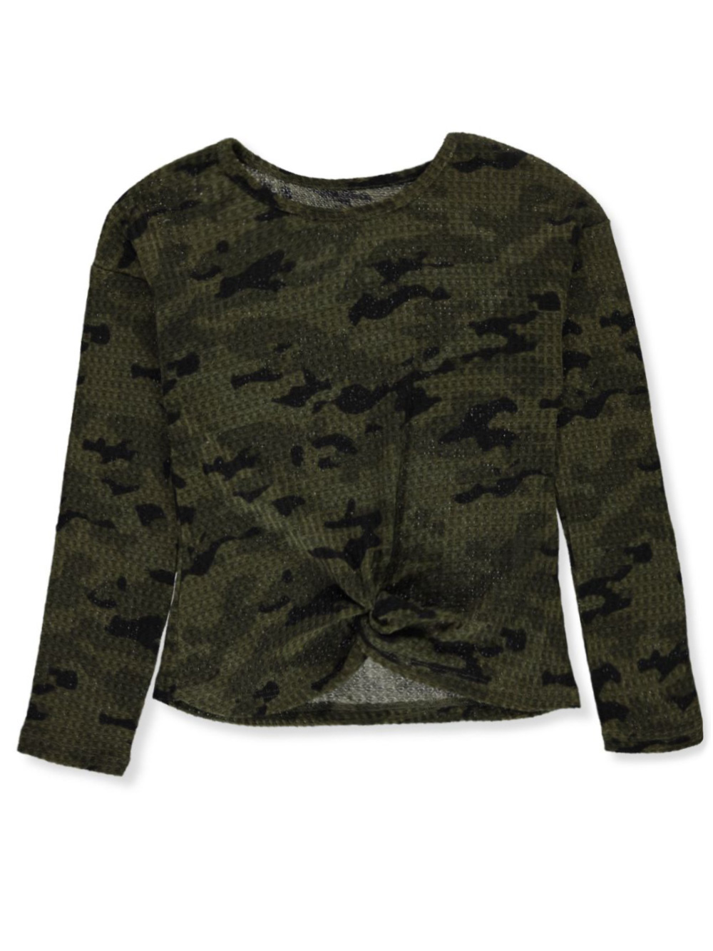 Fashion Tops Gathered Thermal Top
