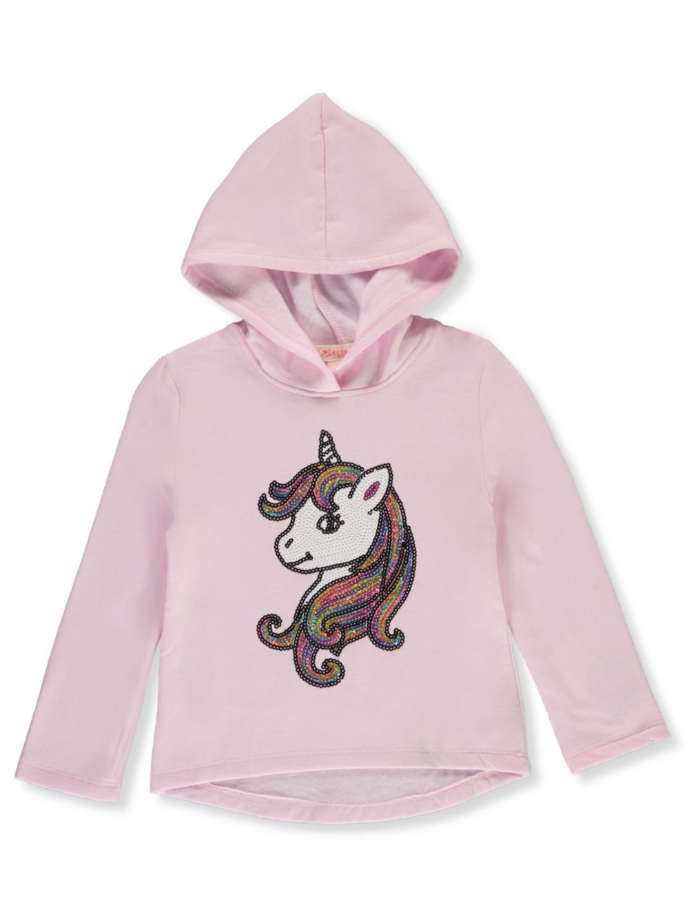 Girls' Sequin Unicorn Hoodie