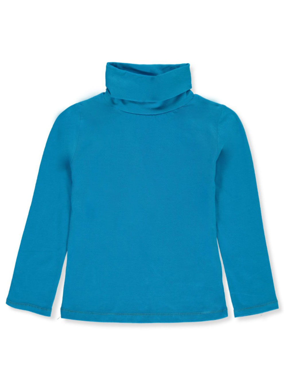 Girls' Stretch Neck Turtleneck
