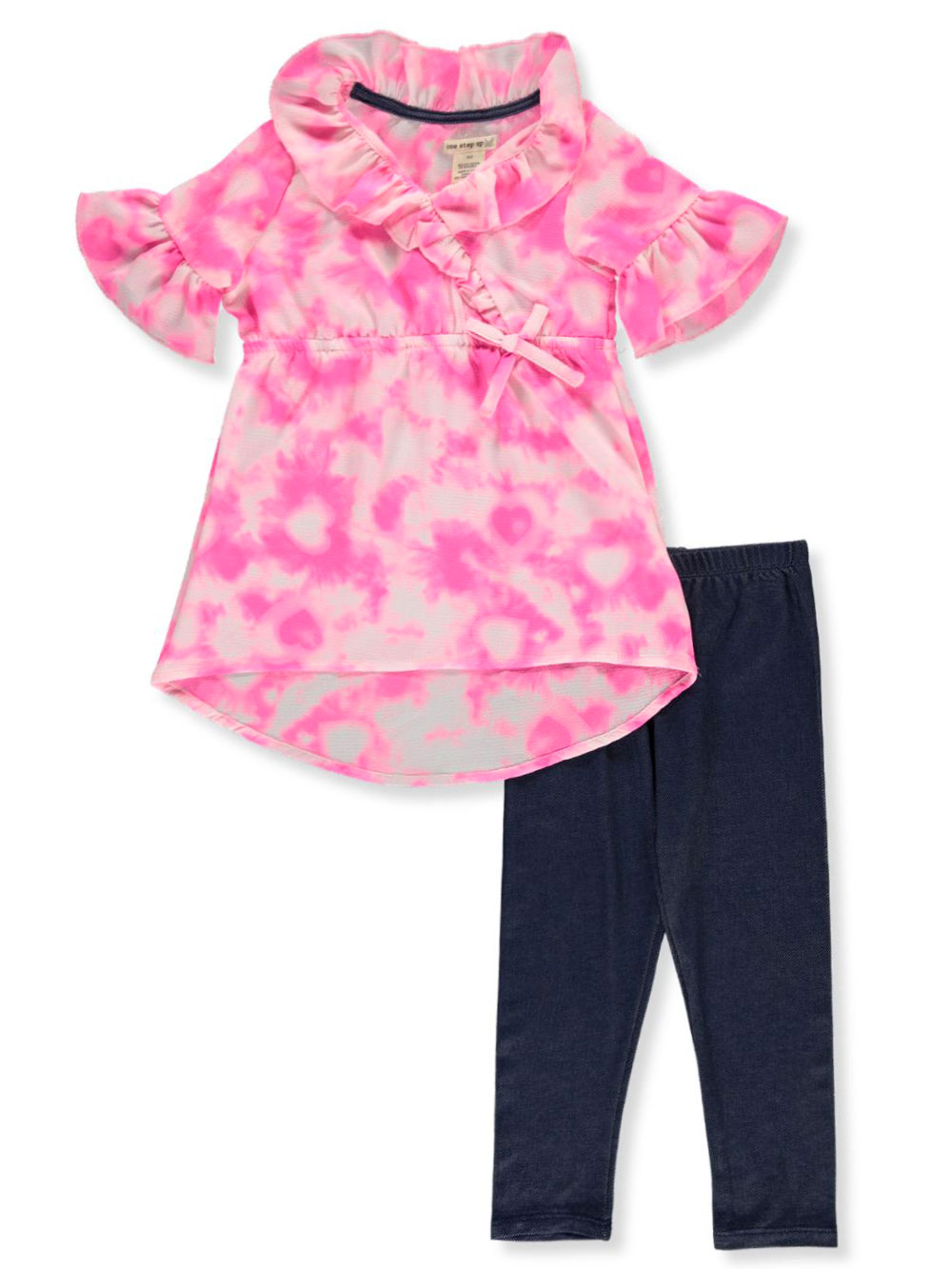 Butterfly 2-Piece Leggings Set Outfit