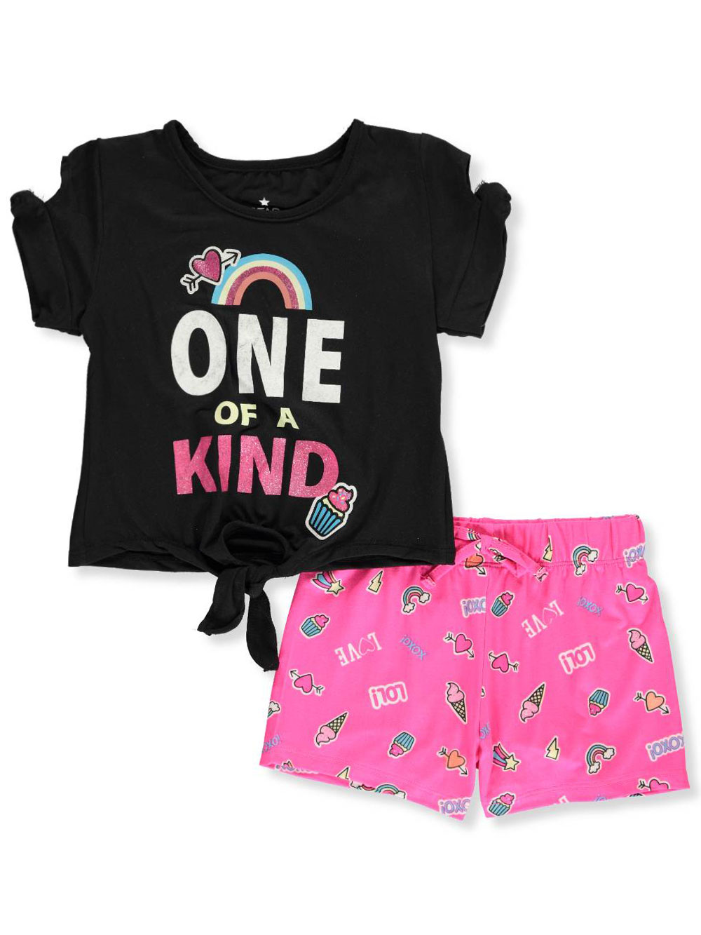 5eee427ae Star Ride Girls' 2-Piece Shorts Set Outfit