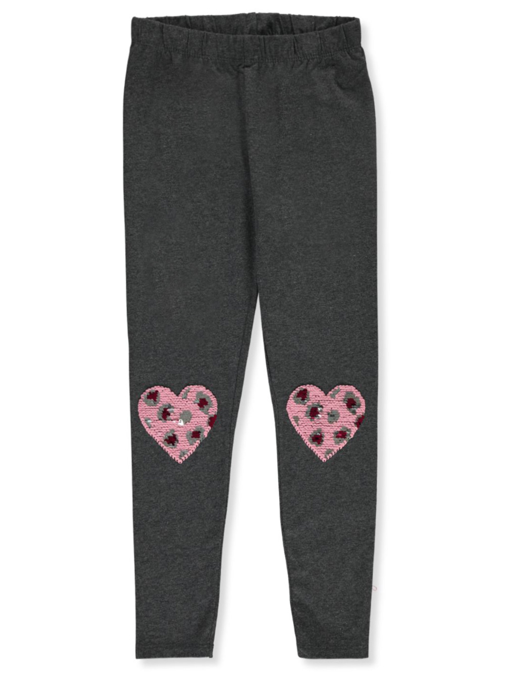Girls Charcoal Leggings