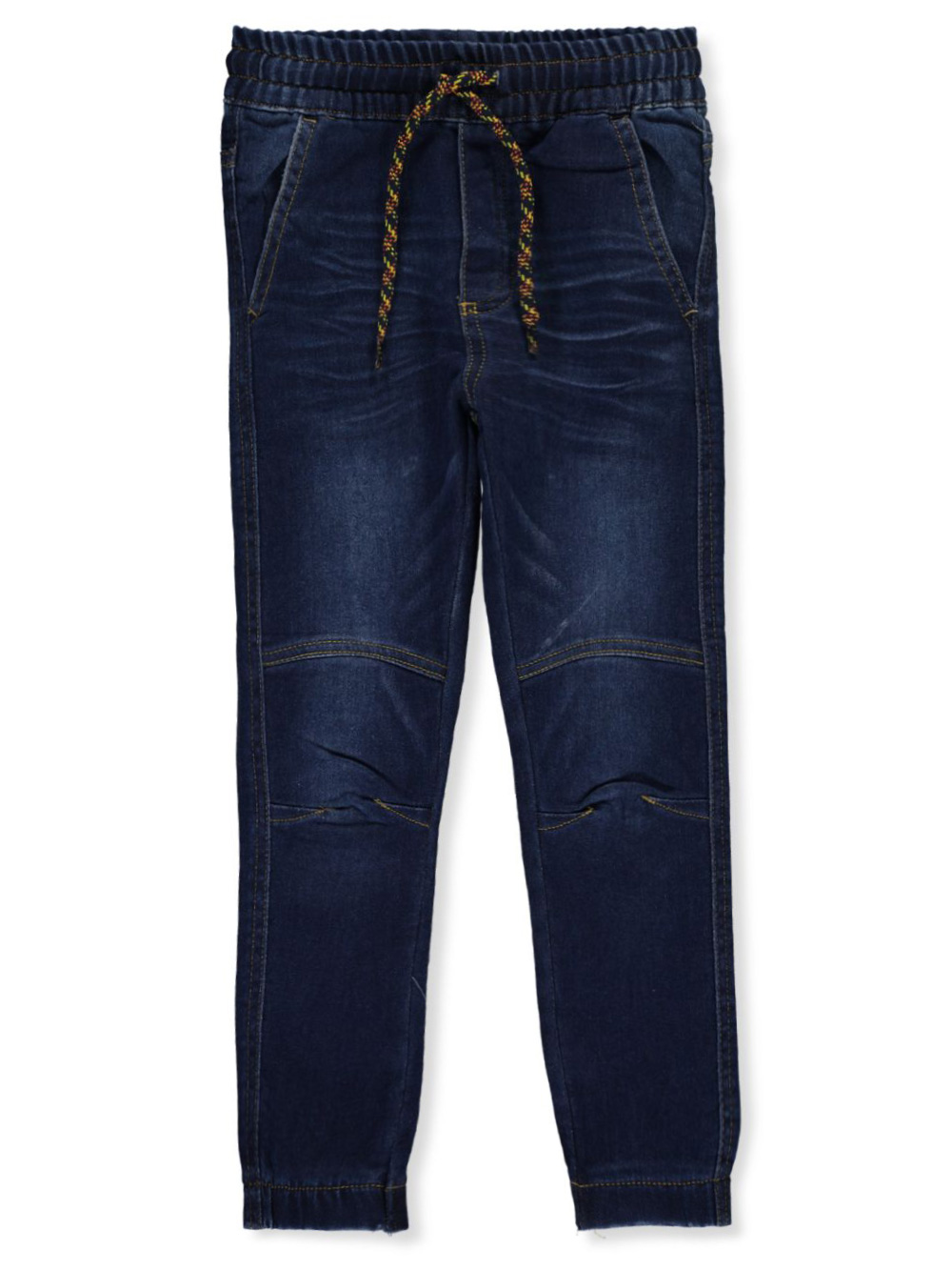 Boys' Drawstring Denim Joggers