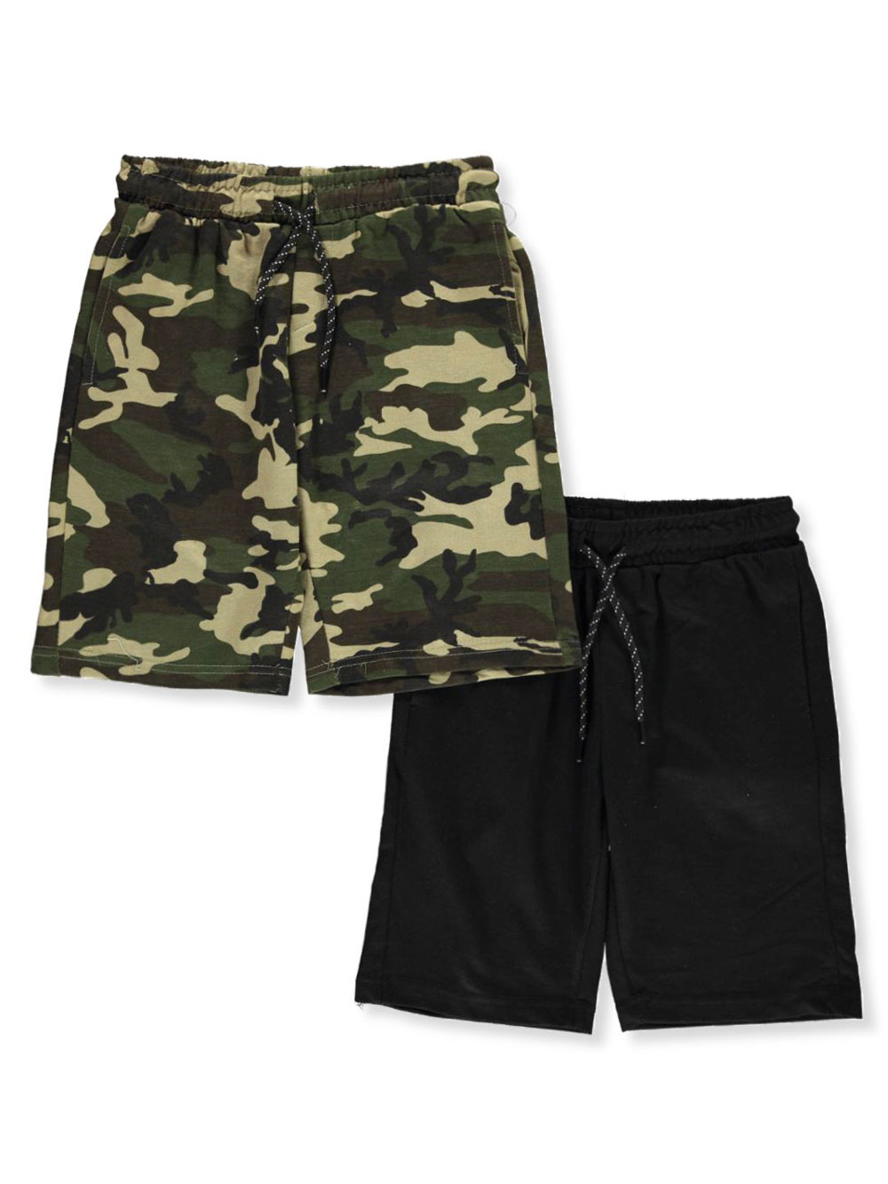 Boys' 2-Pack Terry Shorts