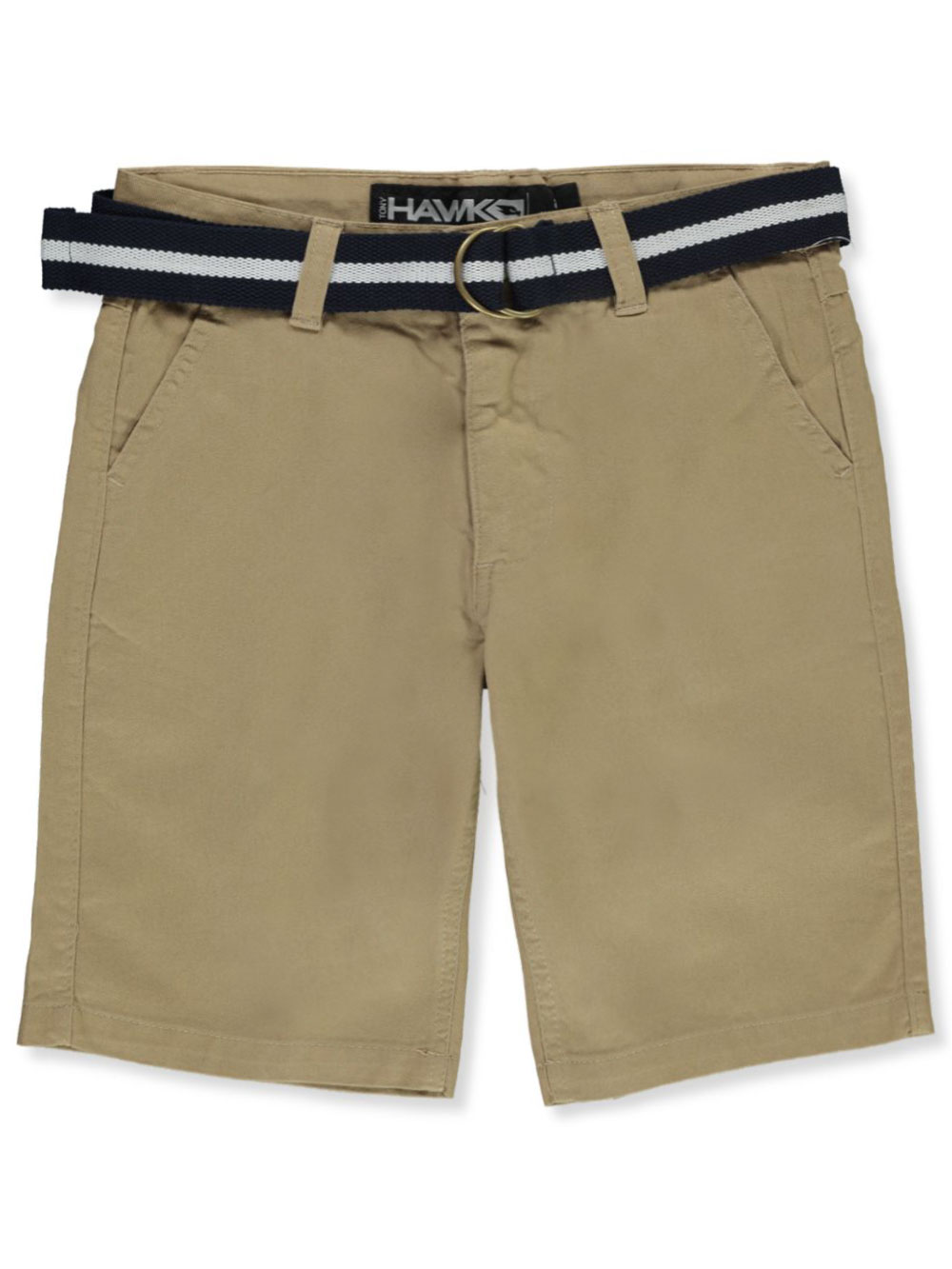 Boys' Belted Flat Front Shorts