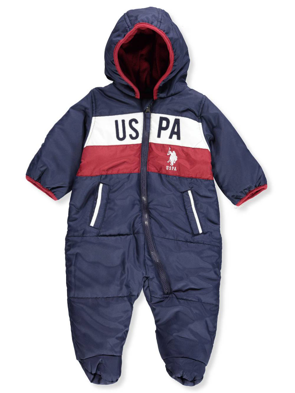80f488634 Baby Boys' 1-Piece Snowsuit by U.S. Polo Assn. in Navy from Cookie's Kids