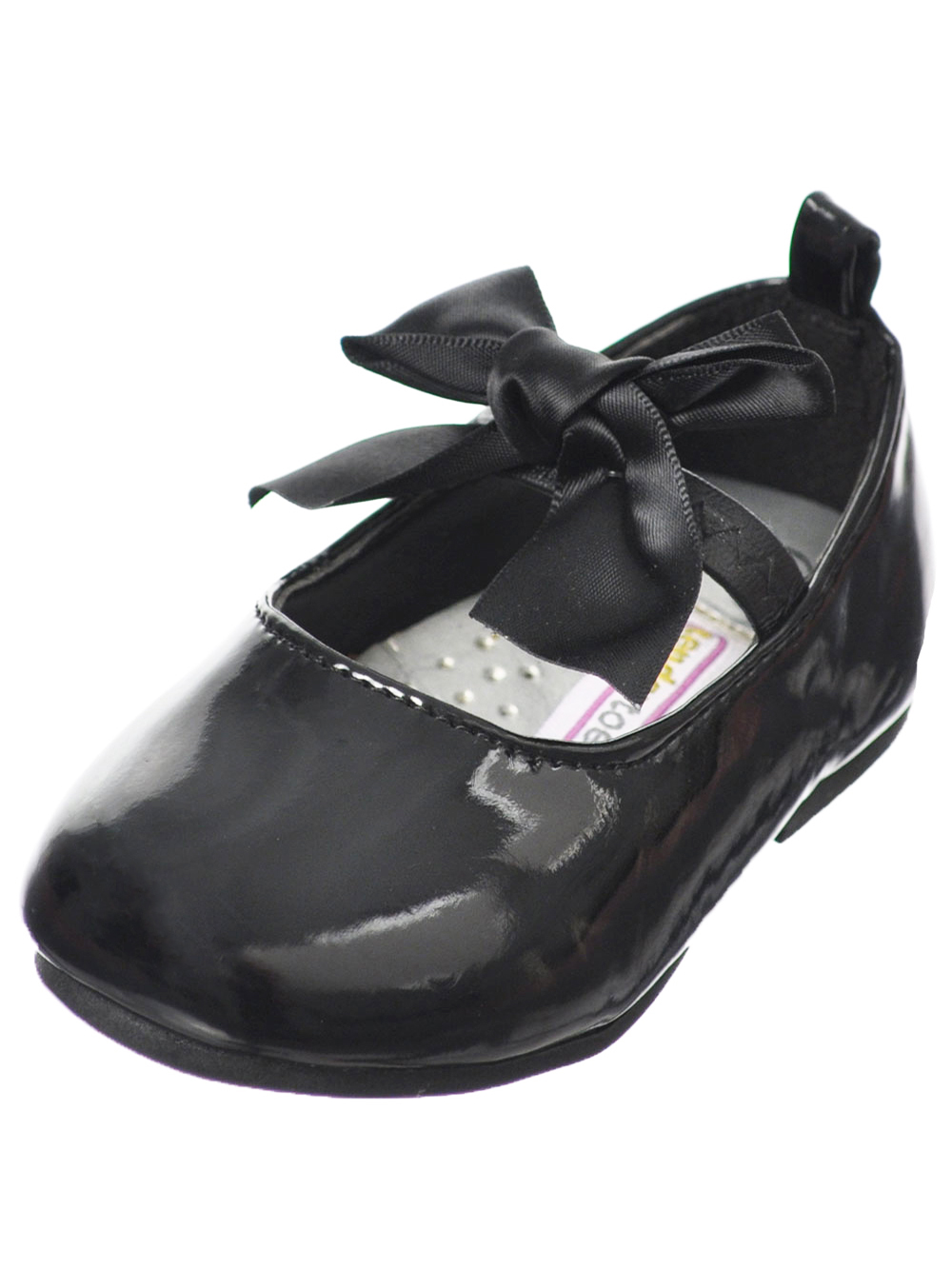 Tendertoes Tulle Bow Mary Jane Shoes (Infant Girls Sizes 2 - 6)