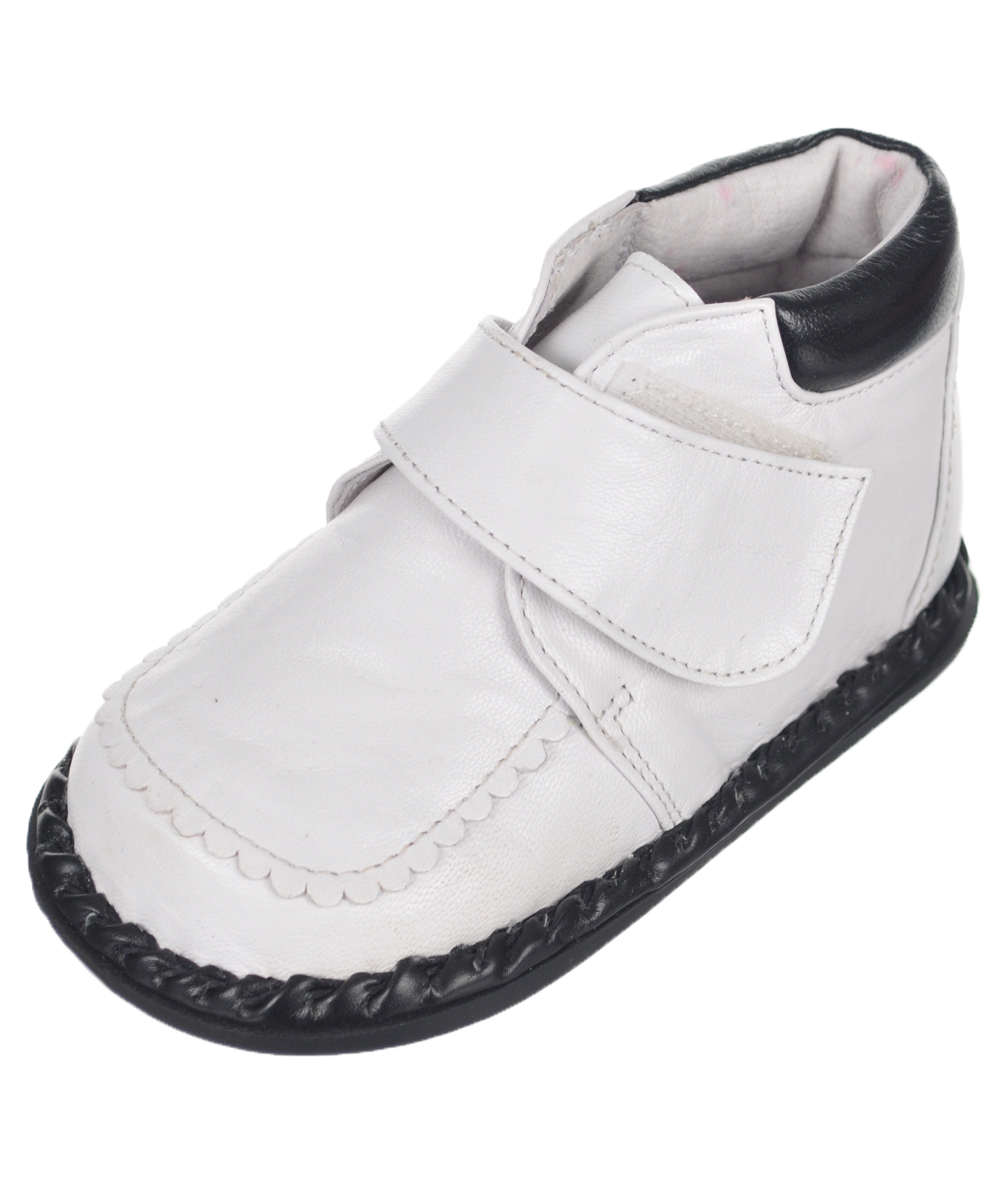 Image of Tendertoes Baby Boys Dorian Booties  white 12  18 months