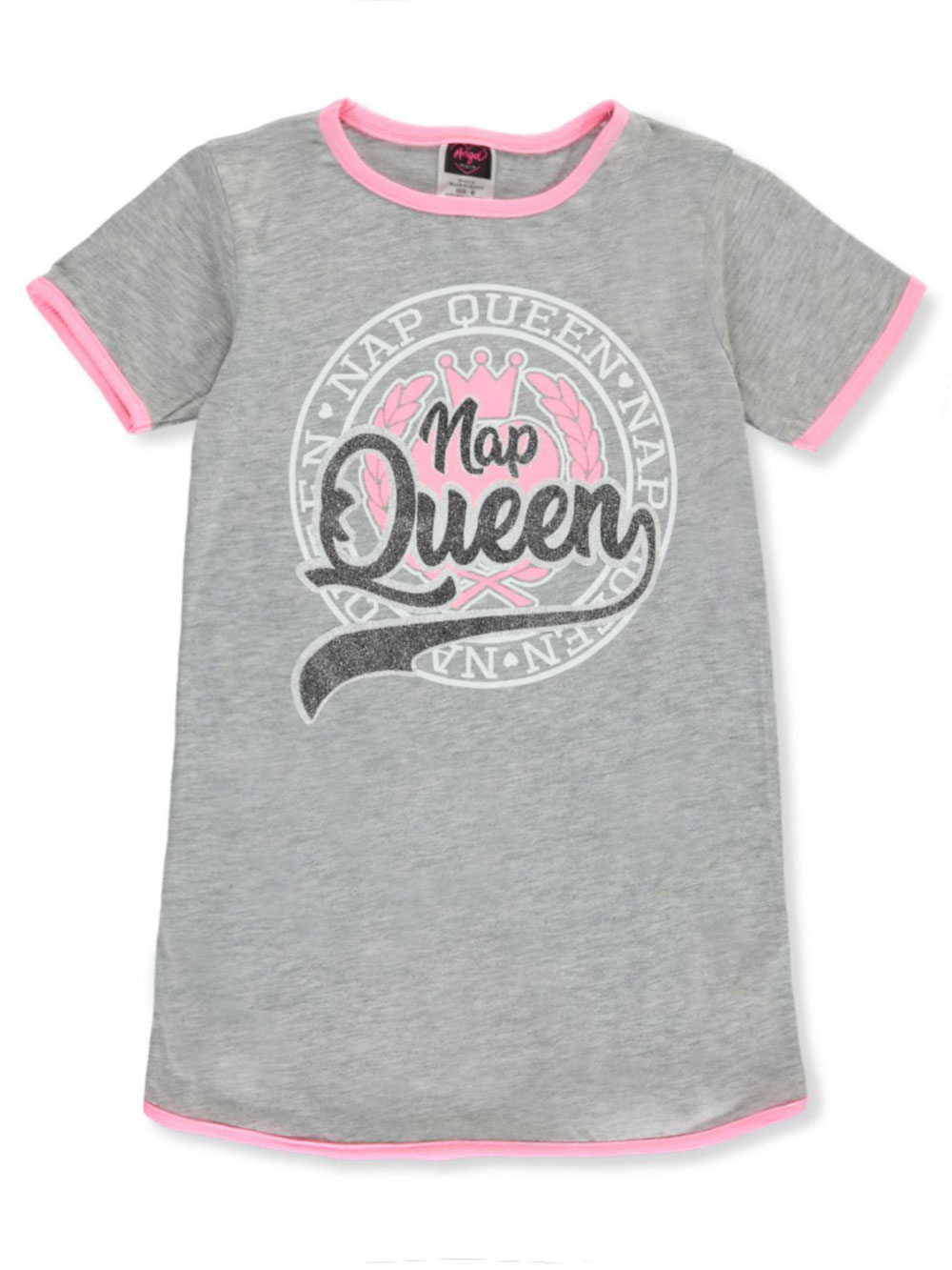 Gray Multicolor Girls Fashion