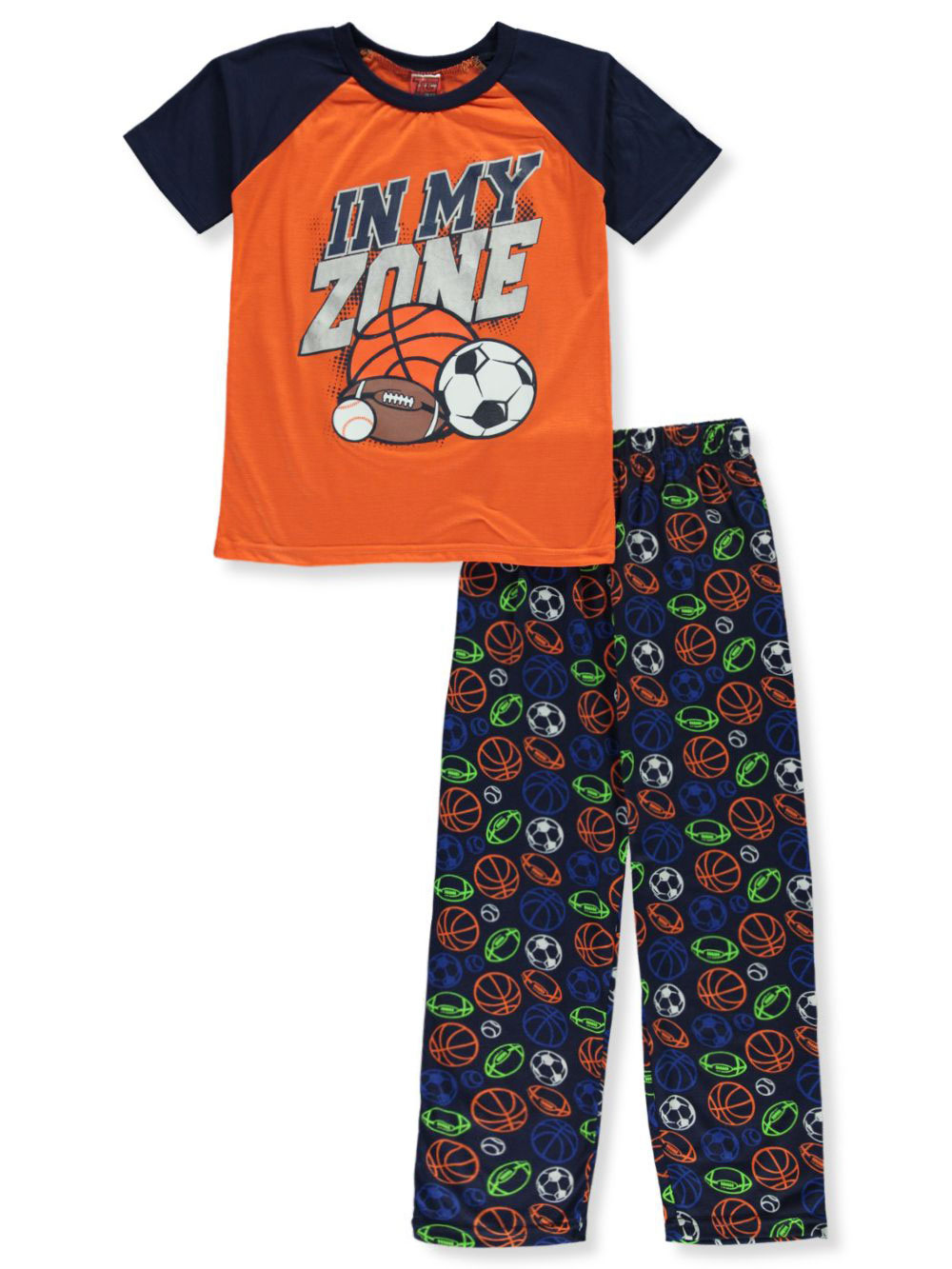 Boys Orange Sleepwear