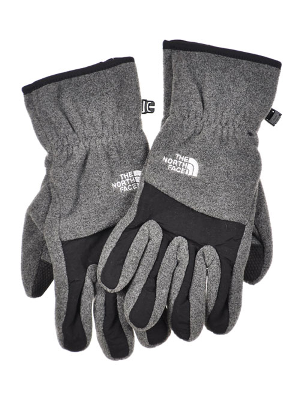 The North Face Men's Denali Glove (Sizes S - XL) - charcoal gray, m