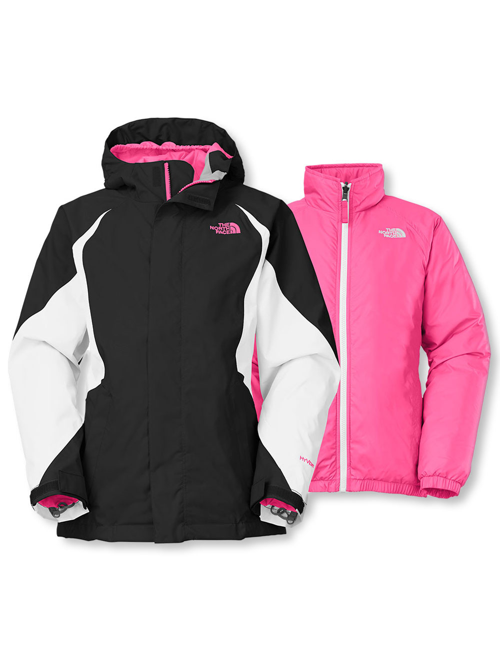 The North Face Big Girls' Kira Triclimate Jacket (Sizes 7 - 16)
