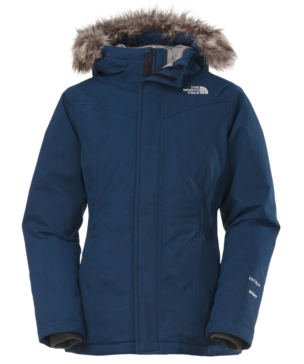 The North Face Big Girls' Greenland Down Parka (Sizes 7 - 16) - cosmic blue, s/7-8