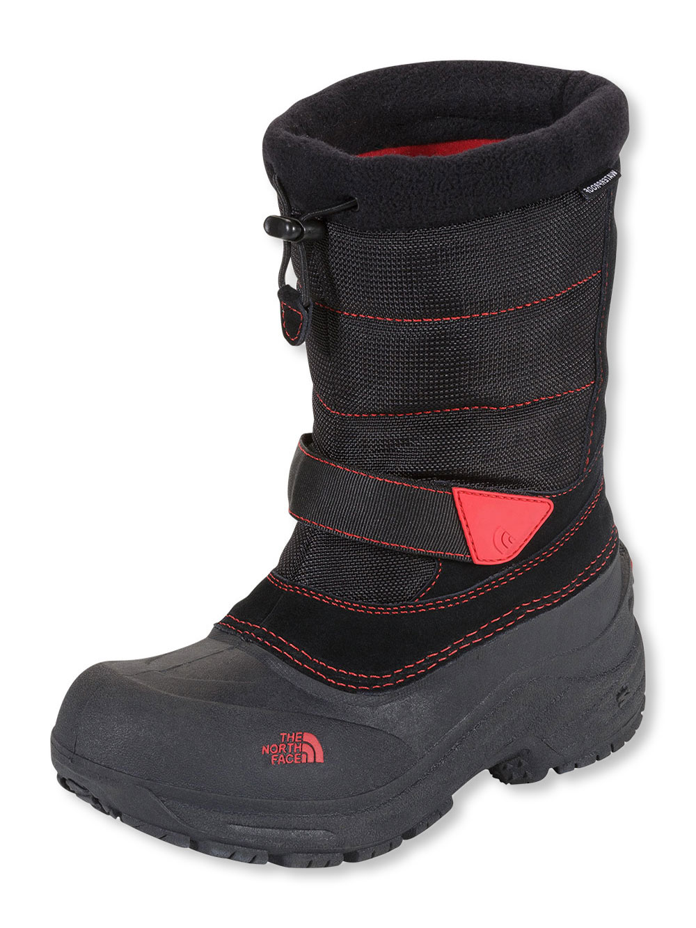 71a16a4ab Girls' Alpenglow Extreme Boot by The North Face in Black/red