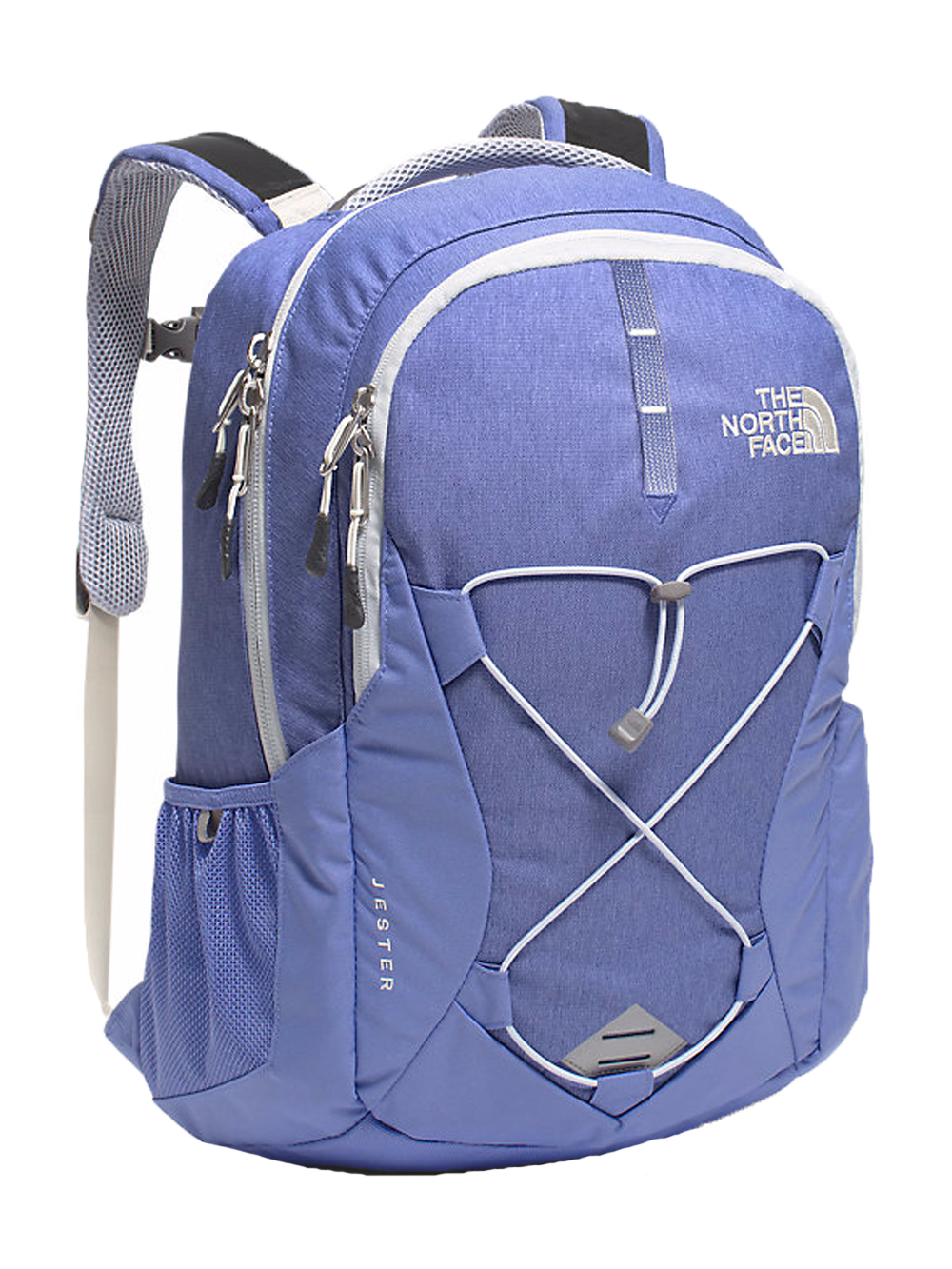 The North Face Jester Backpack - Women's - stellar blue heather/arctic ice blue, one size