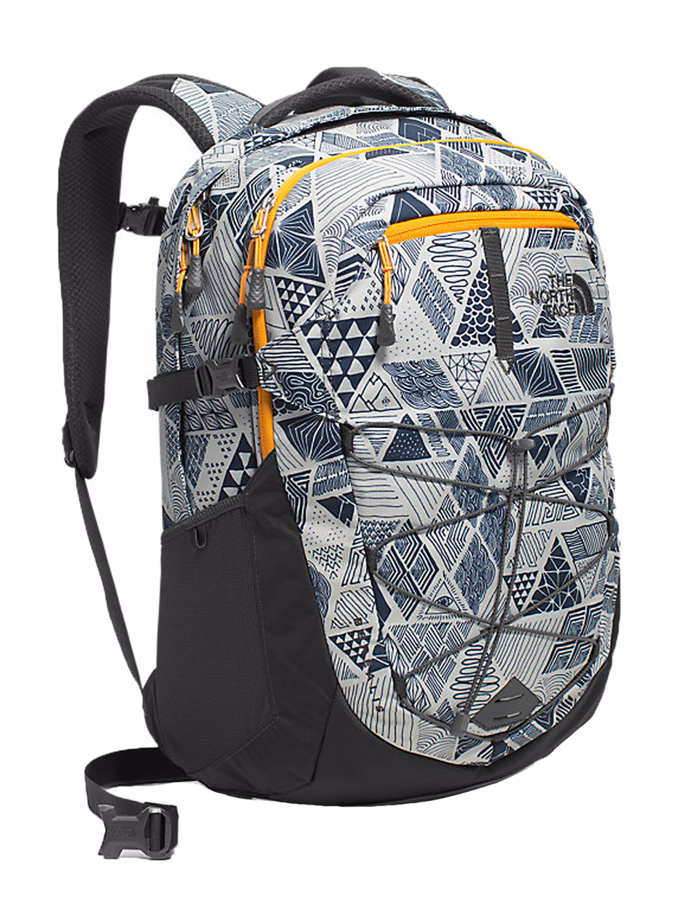 The North Face Borealis Backpack - trickonometry print/radiant yellow, one size