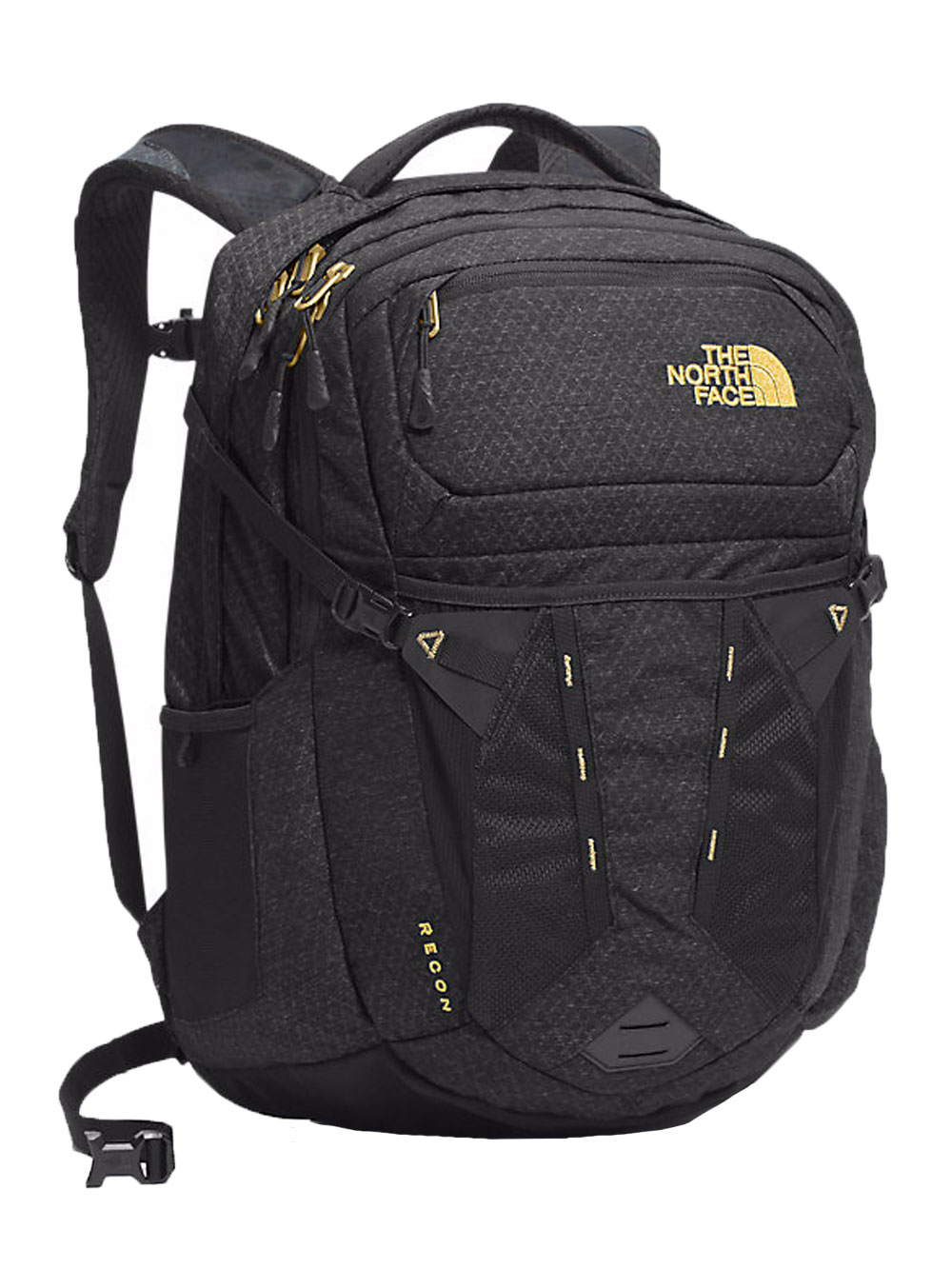 The North Face Recon Backpack - Women's - black/24k gold, one size
