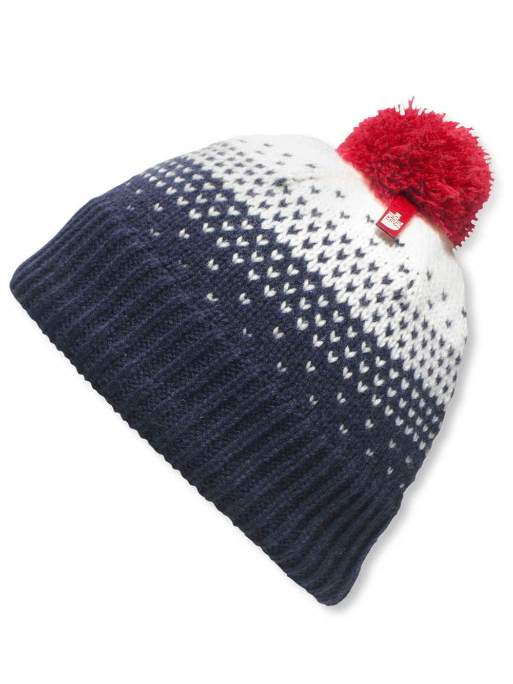 The North Face Youth Pom Pom Beanie (Sizes S - L) - cosmic blue, s