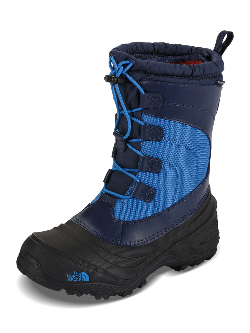 The North Face Boys' Alpenglow IV Boots (Toddler Sizes 10 - 12) - cosmic blue/blue aster, 11 toddler