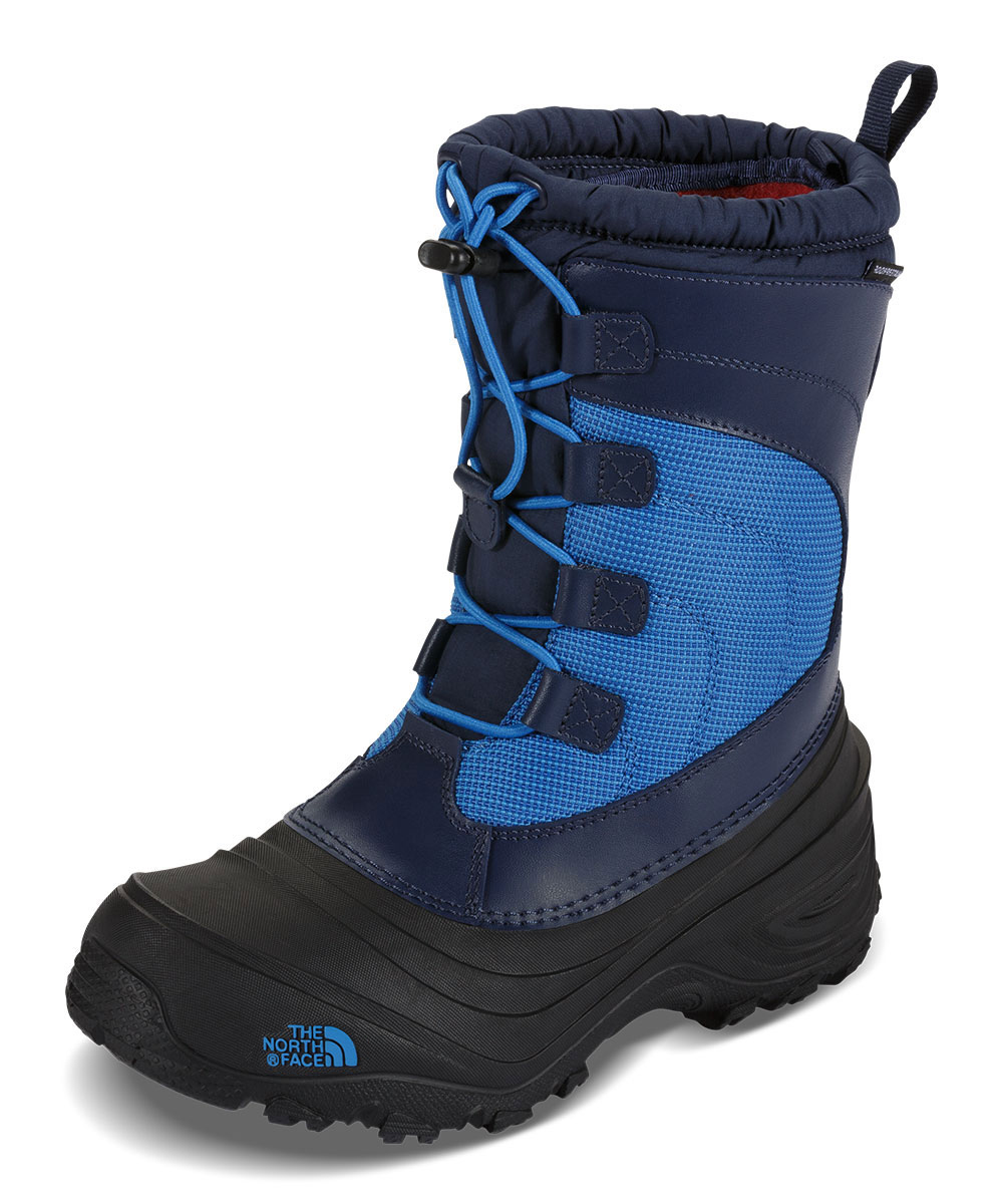 The North Face Boys' Alpenglow IV Boots (Youth Sizes 13 - 7) - cosmic blue/blue aster, 13 youth