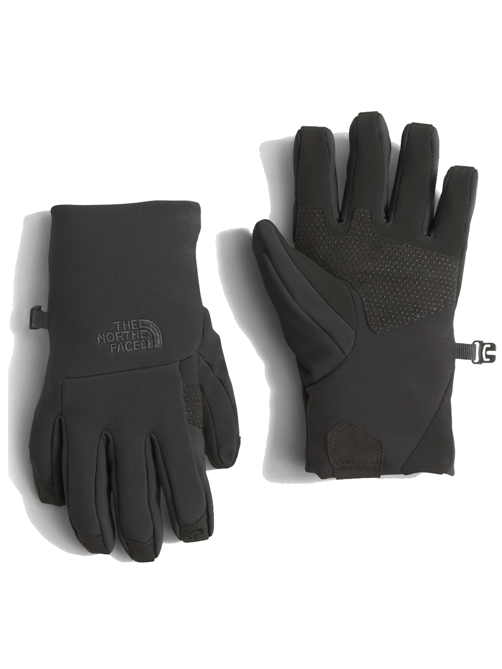87f5d493c Boys' Youth Apex+ Etip Gloves by The North Face in Black