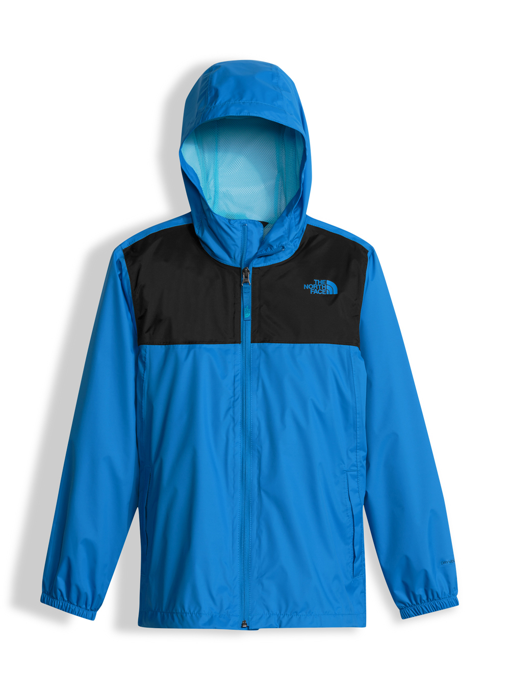 The North Face Big Boys' Zipline Rain Jacket (Sizes S - XL) - clear lake blue, s/7-8