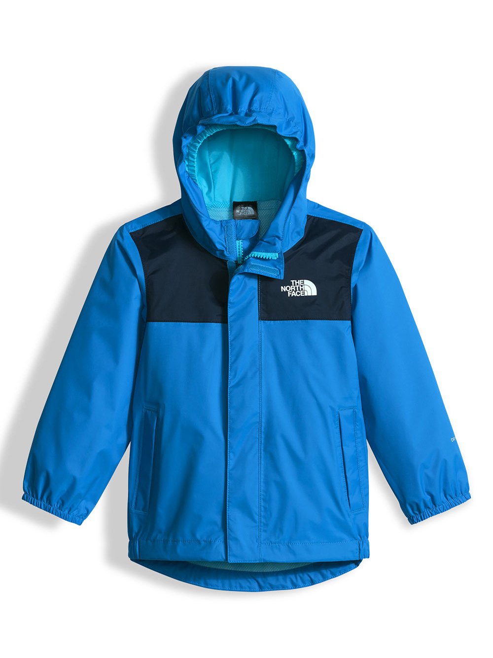 The North Face Little Boys' Tailout Rain Jacket (Sizes 5 - 6) - clear lake blue, 5