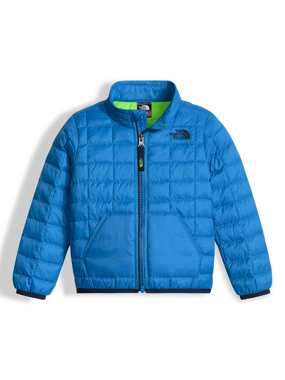 The North Face Little Boys' Thermoball Full Zip Jacket (Sizes 5 - 6) - clear lake blue, 5