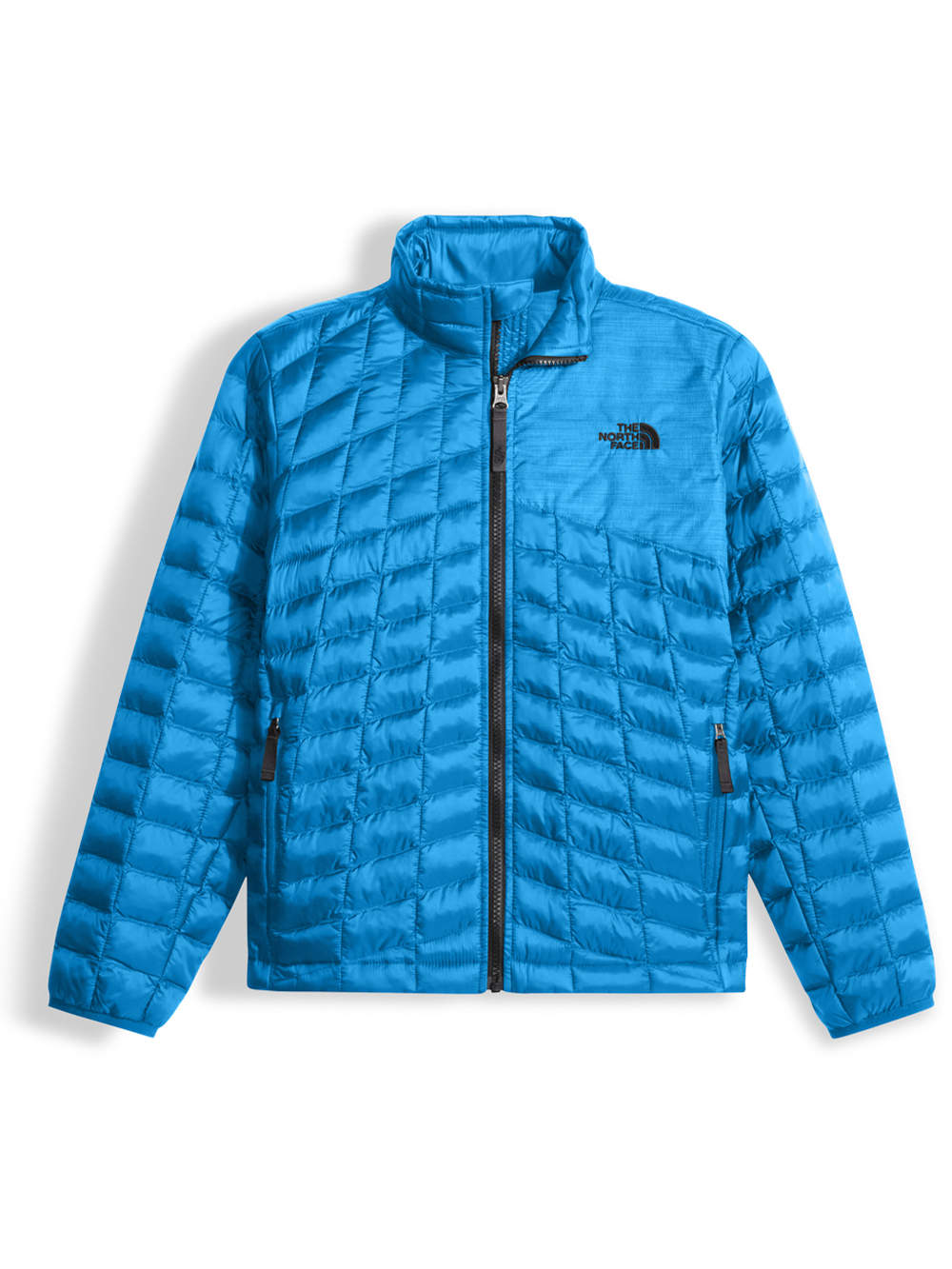 The North Face Big Boys' Thermoball Full Zip Jacket (Sizes S - XL) - clear lake blue, xl/18-20