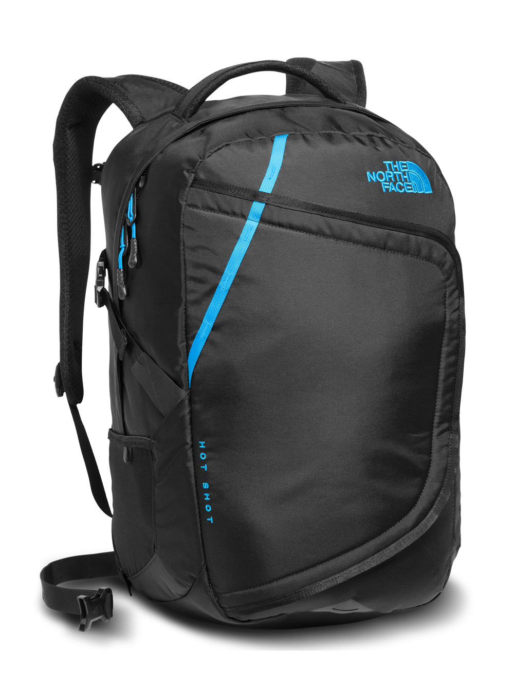 The North Face Hot Shot Backpack - black/hyper blue, one size