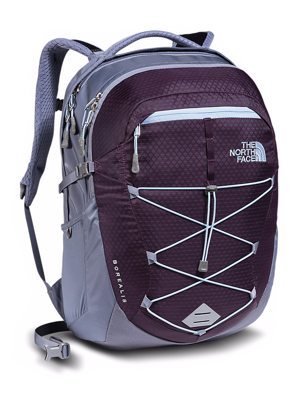 The North Face Women's Borealis Backpack - blackberry wine/chambray blue, one size